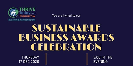 Sustainable Business  Celebration/ Ceremonia a los Negocios Sustentables entradas