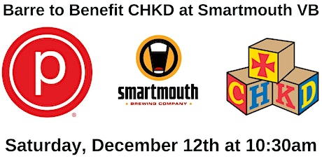 Pure Barre Pop Up To Benefit CHKD at Smartmouth VB tickets