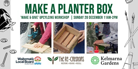 Make a Planter Box, with the Re-Creators tickets