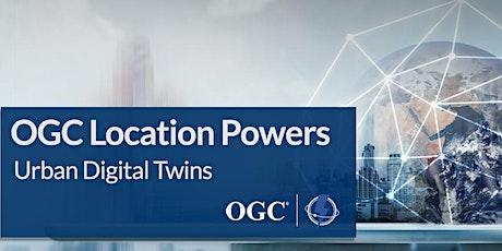 Location Powers 2021 Digital Twins tickets