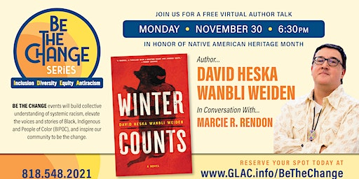 Author Talk With David Heska Wanbli Weiden