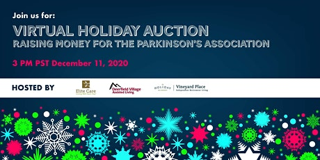 Holiday Auction for Parkinson's tickets