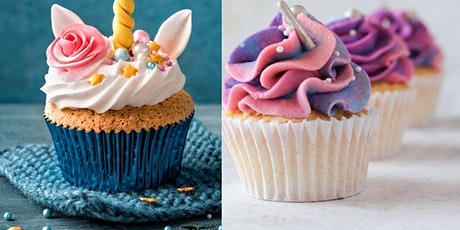Unicorn Cupcake and Rainbow Cupcake from scratch tickets