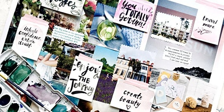 Vision Board Party - Pre vision Board worksheet tickets