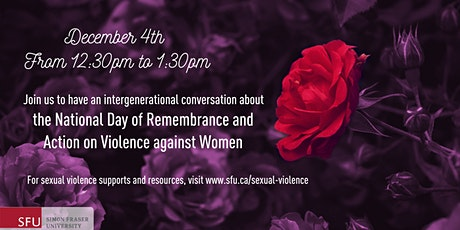 Intergenerational reflections on the National Day of Remembrance tickets