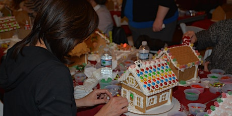 Gingerbread  House Workshop for Adults @ 1741 Pub & Grill, Lyman Orchards tickets