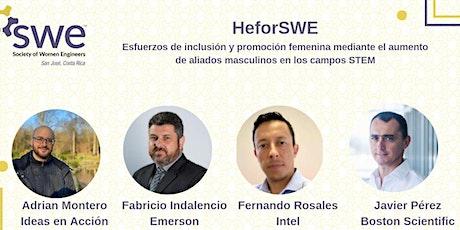 Panel HeforSWE : Esfuerzos de inclusión y promoción femenina entradas