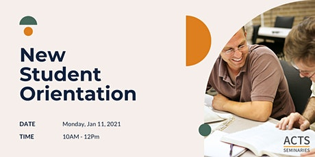 New Student Orientation - Spring 2021