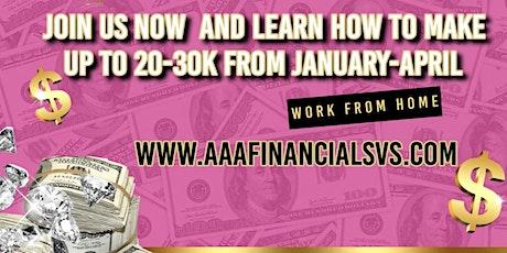Create a new side hustle(Tax Preparer tickets