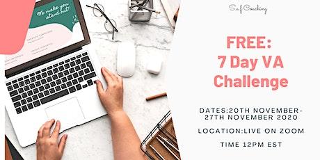 FREE: 7 Day VA Challenge tickets