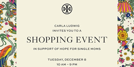 Holiday Shopping with Tory Burch and Hope for Single Moms tickets