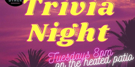 Heated Patio Trivia at Electric Diner tickets