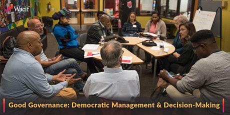 Good Governance: Democratic Management & Decision-Making tickets