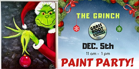 The Grinch   Paint Party! tickets