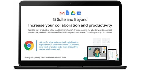 Increase your collaboration and productivity with G Suite and Chrome OS tickets