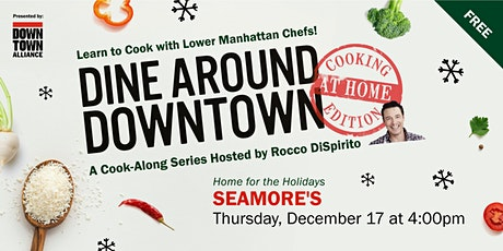 Dine Around Downtown: Cooking At Home Edition With Seamore's tickets