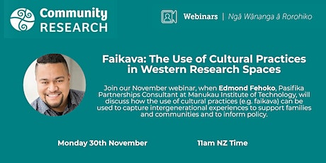Faikava: The Use of Cultural Practices in Western Research Spaces tickets