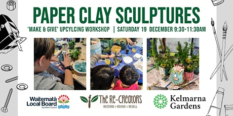 Paper Clay Sculptures, with the Re-Creators tickets