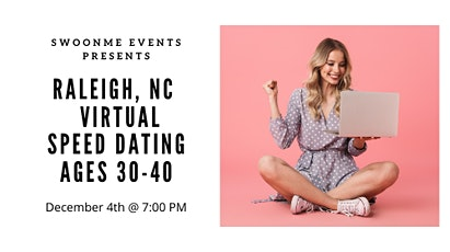 Single in Raleigh - Virtual Speed Dating Party- Ages 30's-40's tickets