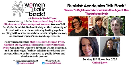 Feminist Academics Talk Back! tickets
