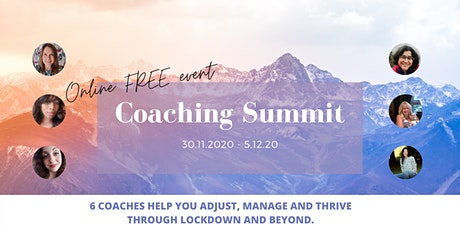 Coaching Summit - Manage, adjust and thrive through lockdown and beyond. tickets
