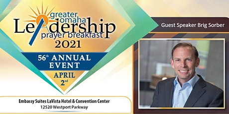 2021 Greater Omaha Leadership Prayer Breakfast tickets