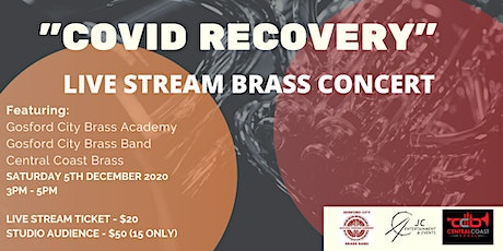 Covid Recovery - Brass Band Concert - LIVE STREAM tickets