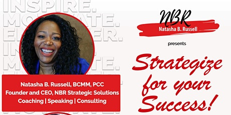Strategize for your Success! Improve your health and your finances tickets