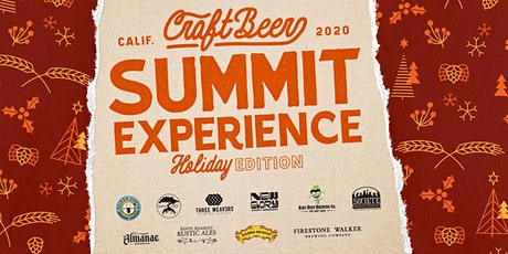 CA Craft Beer Summit Tasting Experience – Holiday Edition! tickets