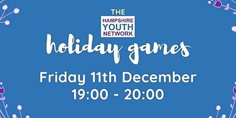 The Hampshire Youth Network Holiday Games tickets