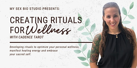 Creating Rituals for Wellness  // Tuesday December 8th, 4pm PST, 7:00pm EST tickets