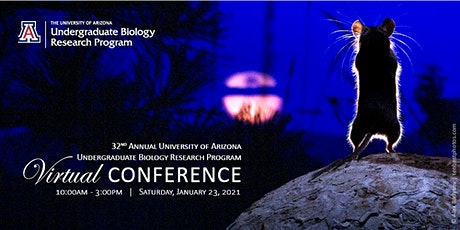 32nd Annual Undergraduate Biology Research Program Virtual Conference tickets