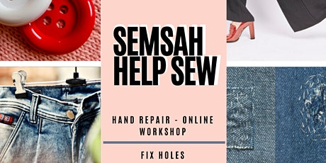 SEMSAH HELP SEW - Live sew along with Q&A session tickets