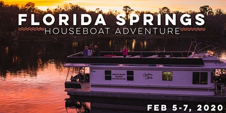 Florida Springs Houseboat Adventure tickets