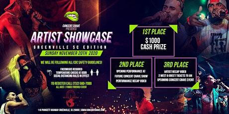 Concert Crave Artist Showcase - GREENVILLE, SC 12.20.20 tickets