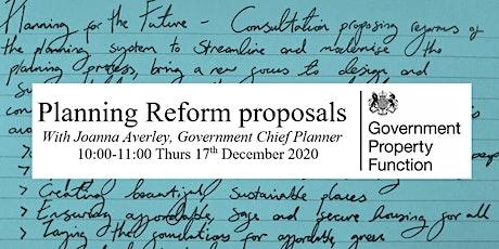 Planning Reform proposals tickets