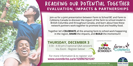 Reaching Our Potential Together: Evaluation, Impacts and Partnerships tickets