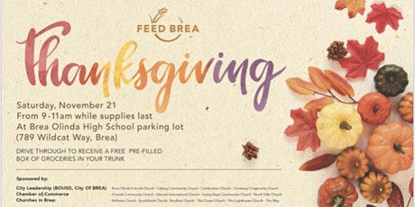 Feed Brea (Holiday Edition) tickets