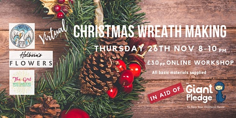 Virtual Christmas Wreath Making tickets