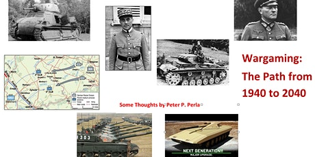 Wargaming: The Path from 1940 to 2040 tickets