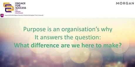 Exploring Organisational Purpose – Benchmarking UK businesses tickets