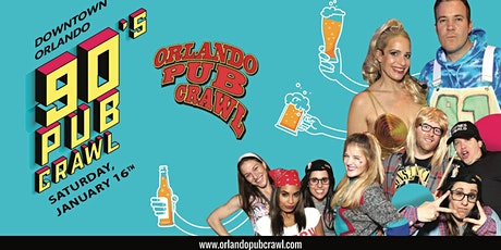 The 90's Pub Crawl ORLANDO tickets