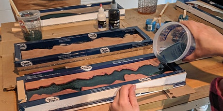 Introduction to Woodworking with Epoxy tickets