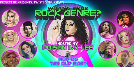 Twisted Thursdays: Gay Nights - Category Is...What's Your Rock Genre tickets