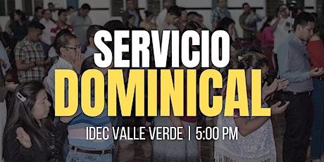 SERVICIO DOMINICAL entradas