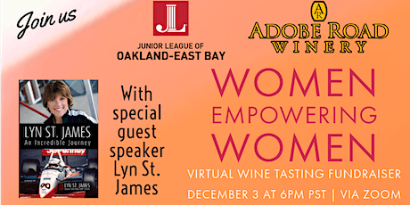 Women Empowering Women with an American Racing Icon  and Wine Tasting! tickets