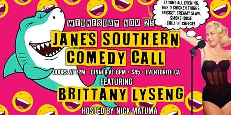 Jane's  Southern Comedy Call Produced by Nick Mutuma tickets