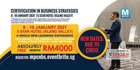 Certification in Business Strategies -  8-10 January 2021