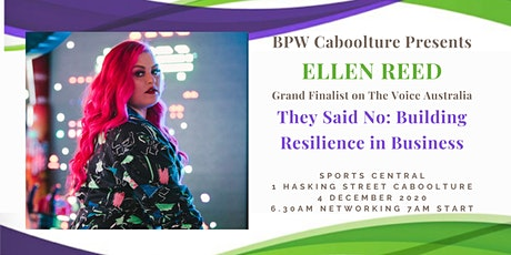 """They Said No: Building Resilience in Business"" tickets"