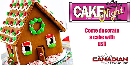 CakeNight Gingerbread House Decorating tickets